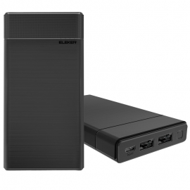 2USB Smart Power Pack 7500mAh