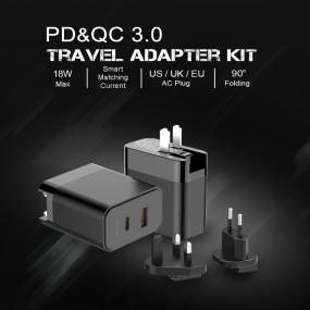 PD&QC 3.0 Travel Adapter KIT