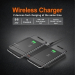 20W Wireless Dual Charger