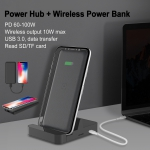 Power Hub Wireless Power Bank